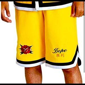 NWOT Dope Rosa Shorts